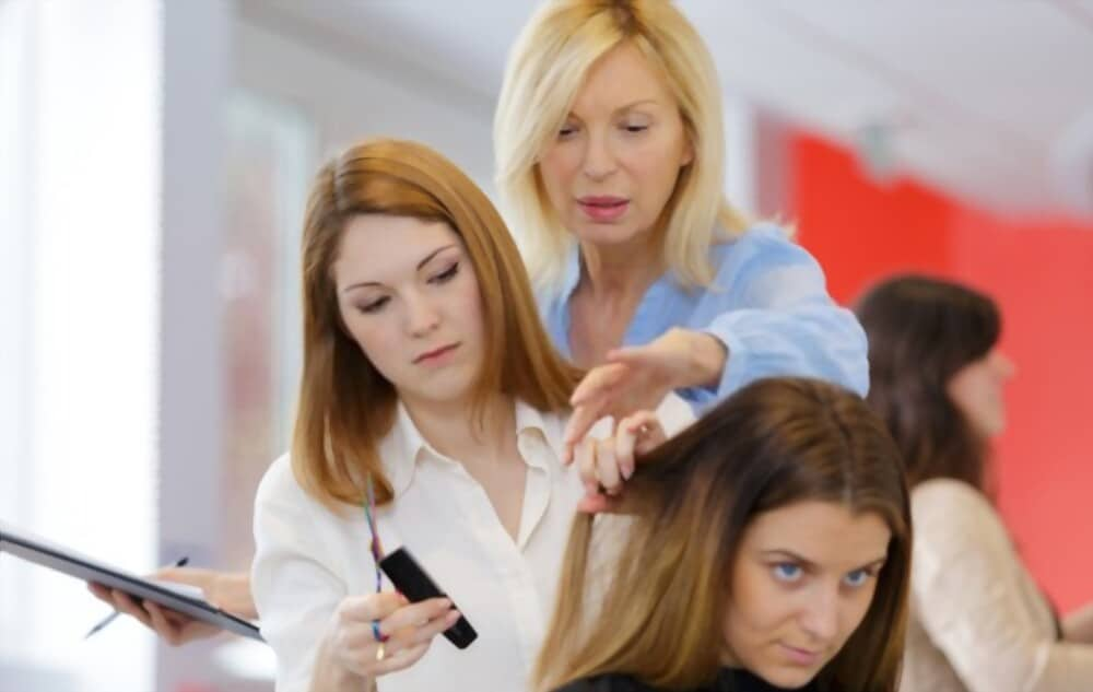 etude de coiffure